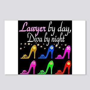 LAWYER SHOE QUEEN Postcards (Package of 8)