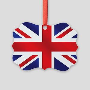 Union Jack UK Flag Ornament