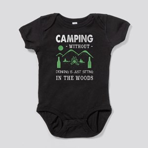 Camping With Out Drinking T Shirt Body Suit