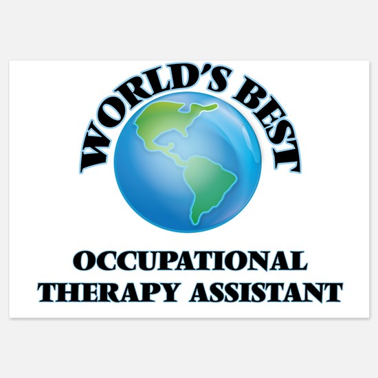 World's Best Occupational Therapy Assi Invitations