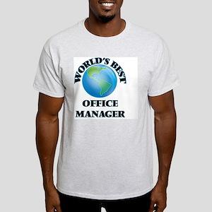 World's Best Office Manager T-Shirt