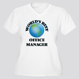 World's Best Office Manager Plus Size T-Shirt