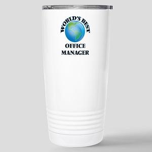 World's Best Office Man Stainless Steel Travel Mug