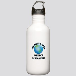World's Best Office Ma Stainless Water Bottle 1.0L