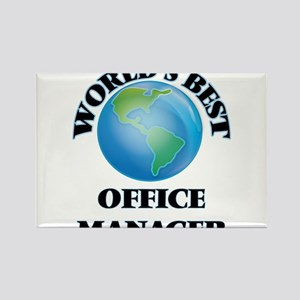 World's Best Office Manager Magnets
