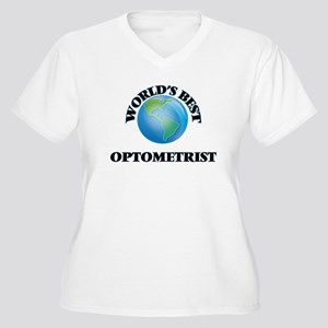 World's Best Optometrist Plus Size T-Shirt