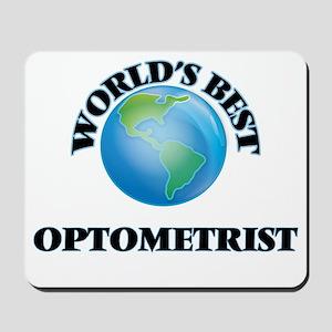 World's Best Optometrist Mousepad