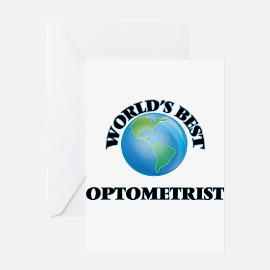 World's Best Optometrist Greeting Cards