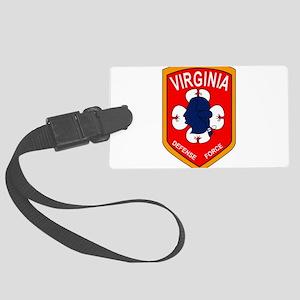 Virginia Defense Force - Echo Co Large Luggage Tag