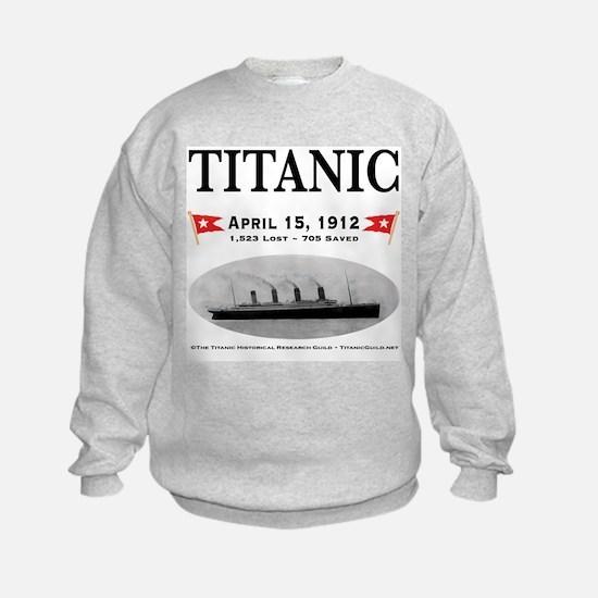 TG2 Ghost Boat 12x12-b Sweatshirt