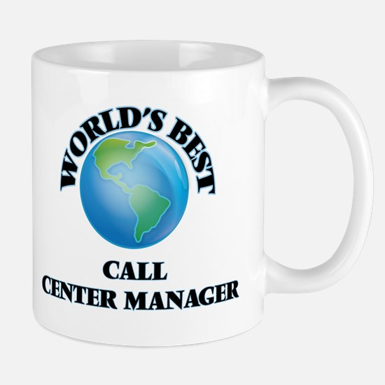 World's Best Call Center Manager Mugs