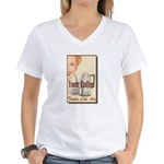 Your Coffee Women's V-Neck T-Shirt
