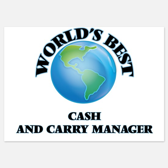 World's Best Cash And Carry Manager Invitations