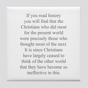 If you read history you will find that the Christi