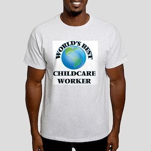 World's Best Childcare Worker T-Shirt