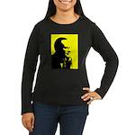Rothbardian Women's Long Sleeve Dark T-Shirt