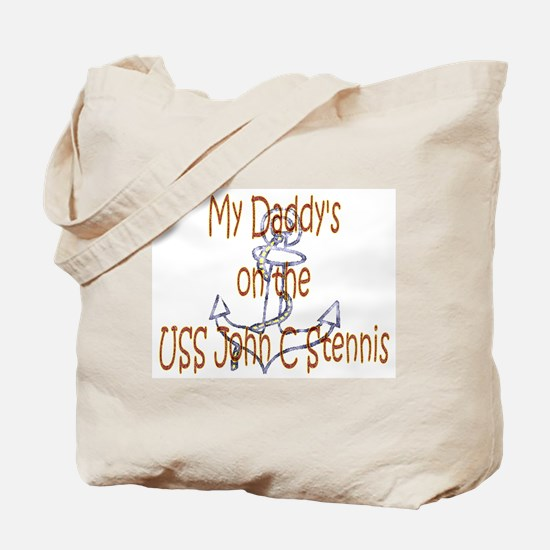 Daddy on Stennis Tote Bag