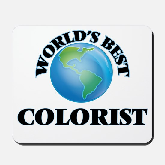 World's Best Colorist Mousepad