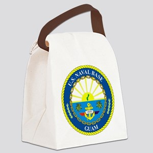 U.S. Navy Base Guam Canvas Lunch Bag