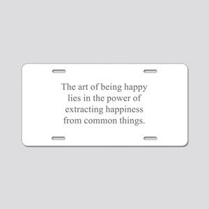 The art of being happy lies in the power of extrac