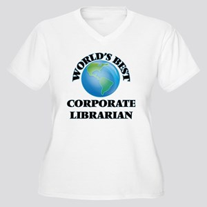 World's Best Corporate Librarian Plus Size T-Shirt