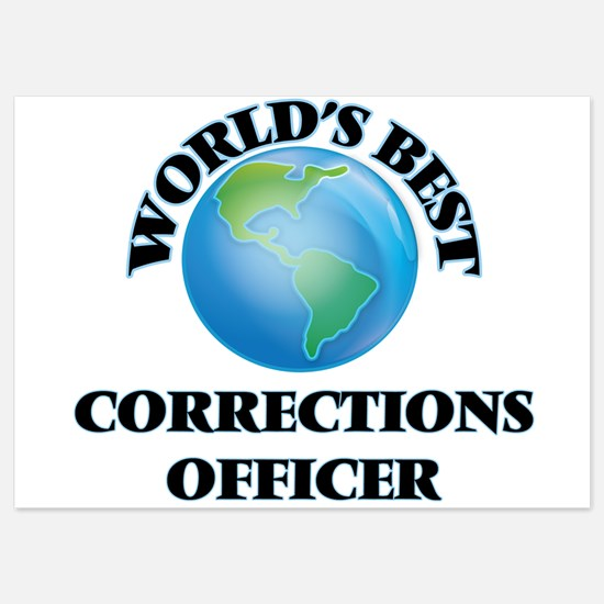 World's Best Corrections Officer Invitations