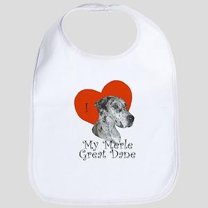 Luv My Merle Great Dane II Bib