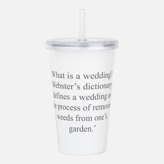 What is a wedding Webster s dictionary defines a w