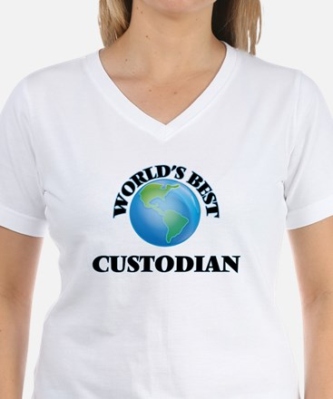 World's Best Custodian T-Shirt