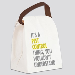 Pest Control Thing Canvas Lunch Bag