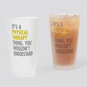 Physical Therapy Thing Drinking Glass