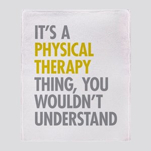 Physical Therapy Thing Throw Blanket