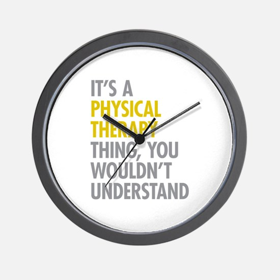 Physical Therapy Thing Wall Clock
