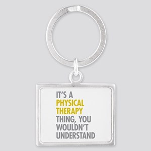 Physical Therapy Thing Landscape Keychain
