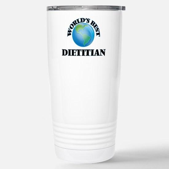 World's Best Dietitian Stainless Steel Travel Mug