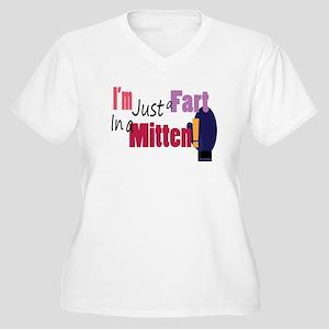 Fart in a Mitten Plus Size T-Shirt