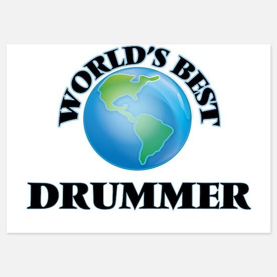 World's Best Drummer Invitations