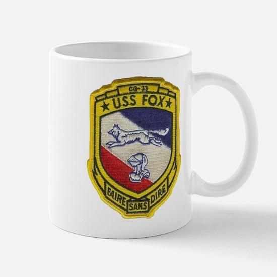 USS FOX Mug