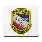 USS FOX Mousepad