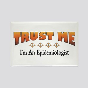 Trust Epidemiologist Rectangle Magnet