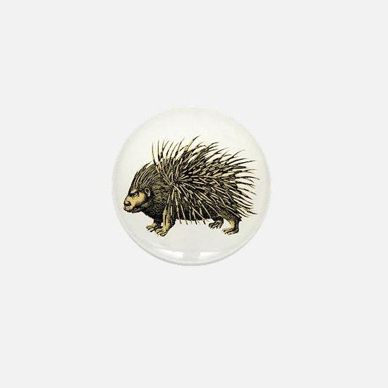 Porcupine Mini Button