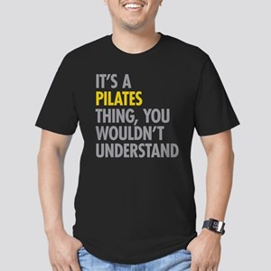 Its A Pilates Thing Men's Fitted T-Shirt (dark)