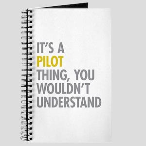Its A Pilot Thing Journal