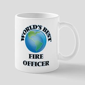 World's Best Fire Officer Mugs