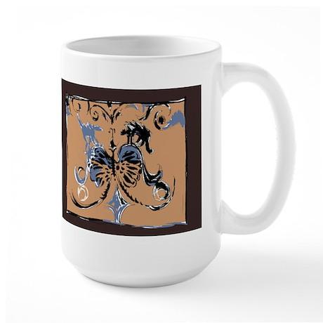 Crest Large Mug