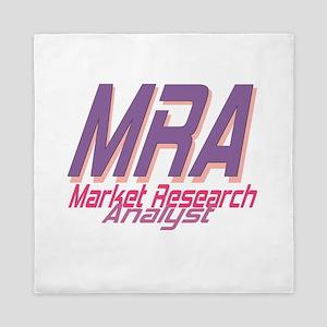 Market Research Analyst Queen Duvet