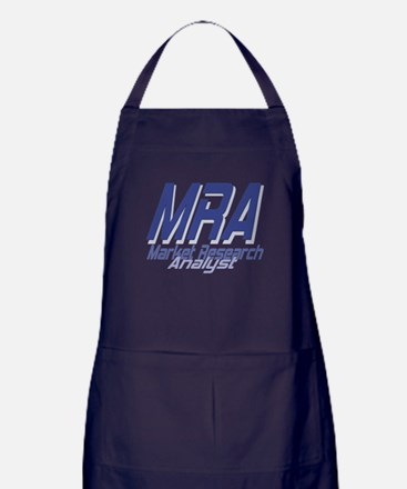 Cool Market Research Analyst Apron (dark)