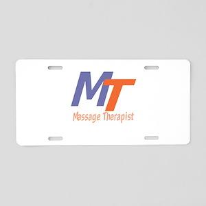 Modern Cool Massage Therapi Aluminum License Plate