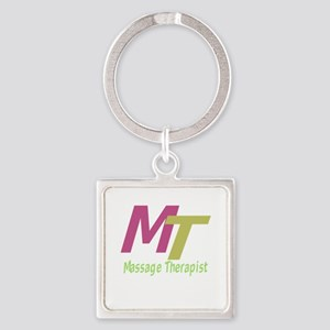 Massage Therapist Square Keychain