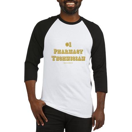 #1 Pharmacy Technician Baseball Jersey
